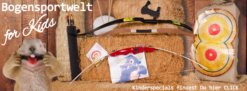 Kinderbögen - Flitzebögen für kleine Bogenschützen