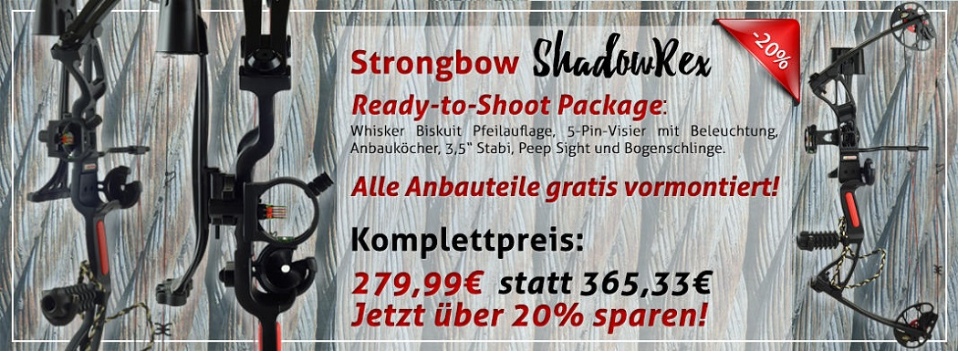 Compoundbogen Special Sonderangebot f�r den Bogensport