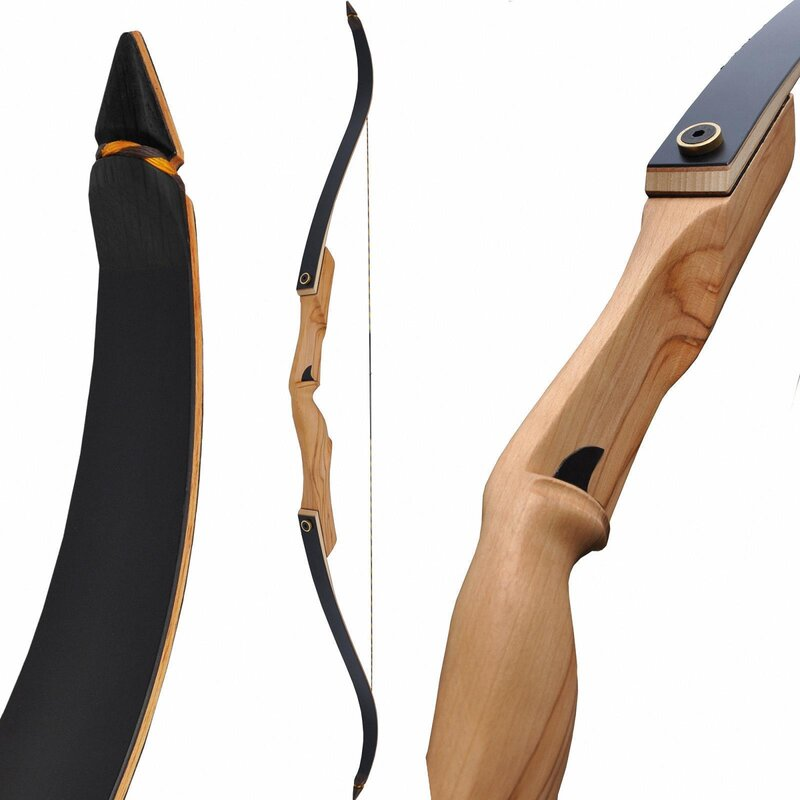 SET BEIER Dark Hunter NG - 60 - 25-55 lbs - Take Down Recurve Bow