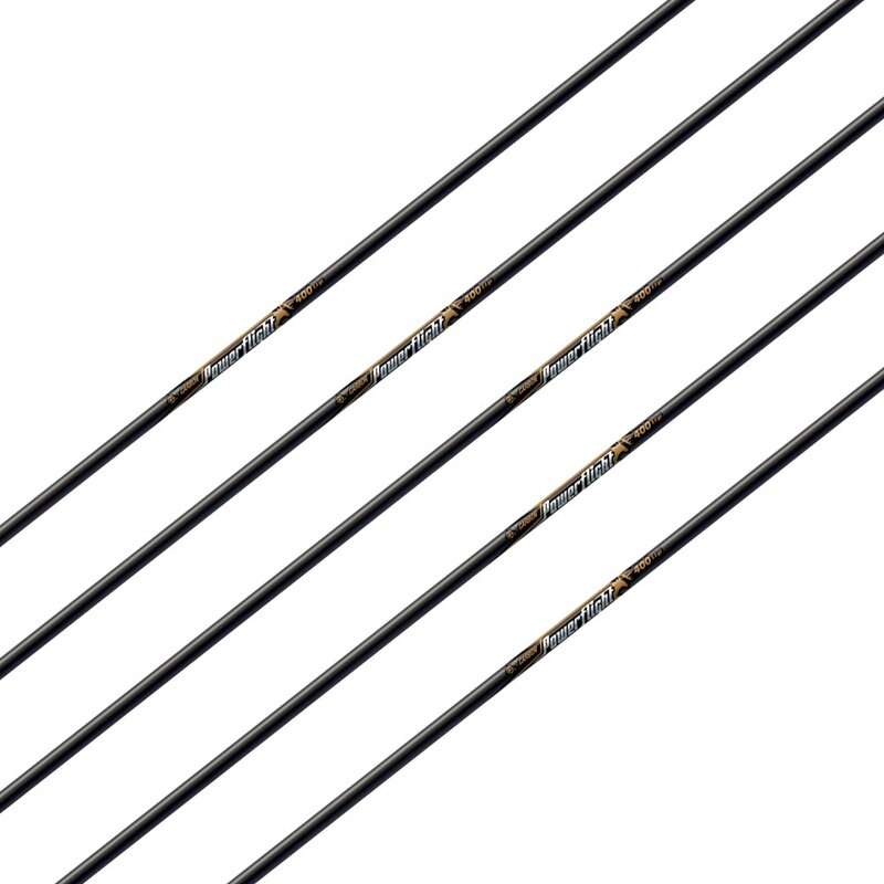 Shaft | EASTON Powerflight - Carbon - incl. Insert and Super Nock