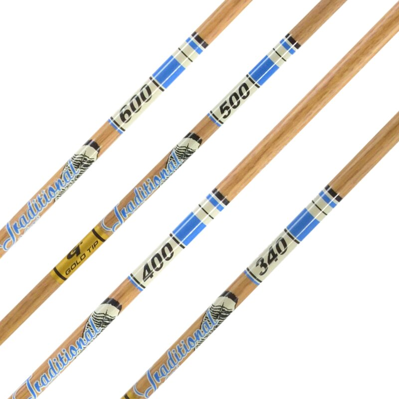 Shaft | GOLDTIP Traditional XT - Carbon - incl. GT Nock and Accu-Lite Insert