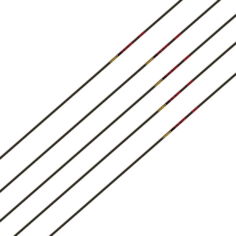 GOLDTIP Velocity - Carbon - Shaft incl. Accu-Lite Nock and Insert | Spine 340 | 28.0
