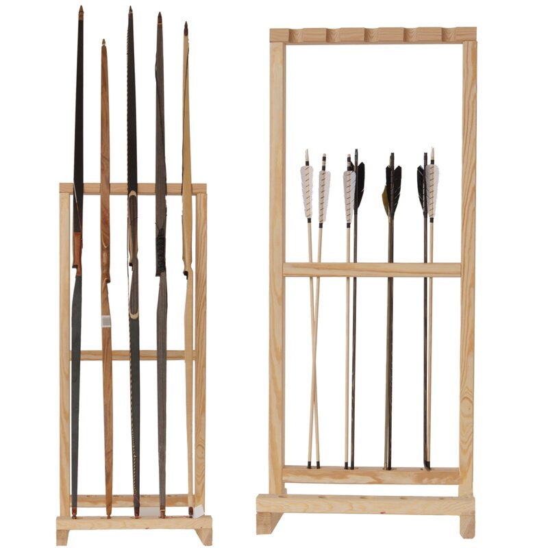 BSW Bow Stand for 5 Bows and Arrows