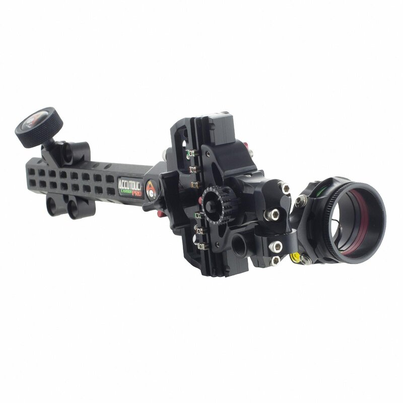 AXCEL AccuTouch Pro Slider Carbon - 1-Pin-Visier