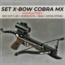 [SPECIAL] SET X-BOW COBRA MX  Red Dot Package - 80 lbs / 165 fps
