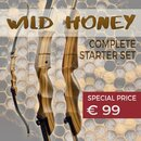 [SPECIAL] SET DRAKE Wild Honey - Take Down - 62-70 Zoll - Recurvebogen - 18-38 lbs