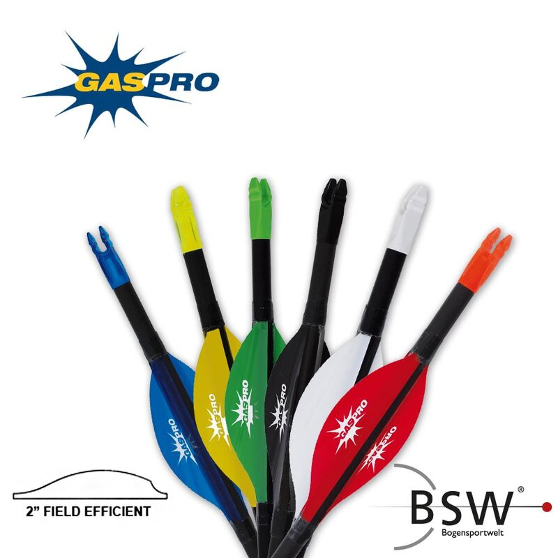 GAS PRO Field Efficient Spin Vanes - 2- Hard Shield - 50 Pieces