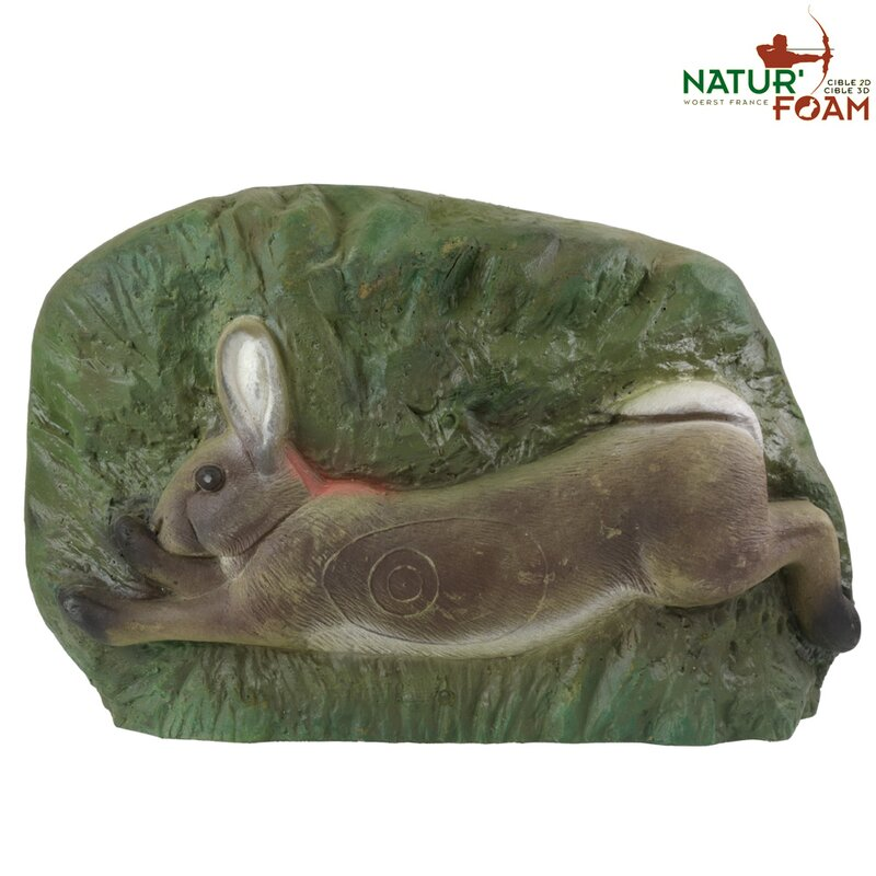 NATURFOAM Hase mit Backstopp