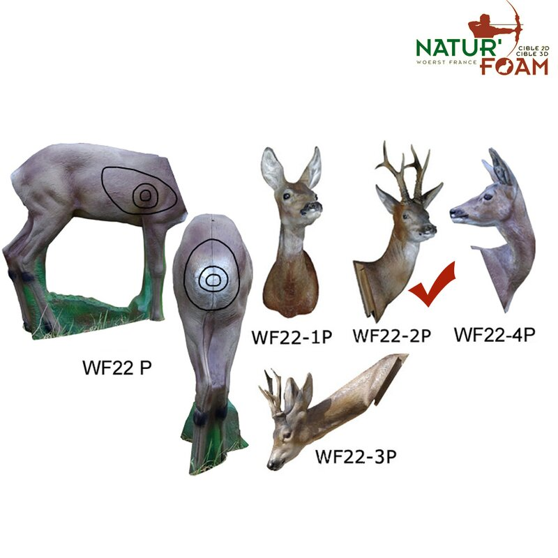 NATURFOAM Kit | Head: Roebuck