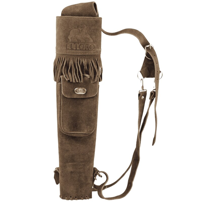 elTORO Dusky - Back Quiver with external Pocket on Top