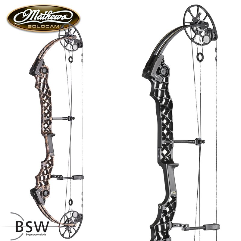 2nd CHANCE | MATHEWS Compound Bow Chill X | RH 60lbs | 27.5 | Black