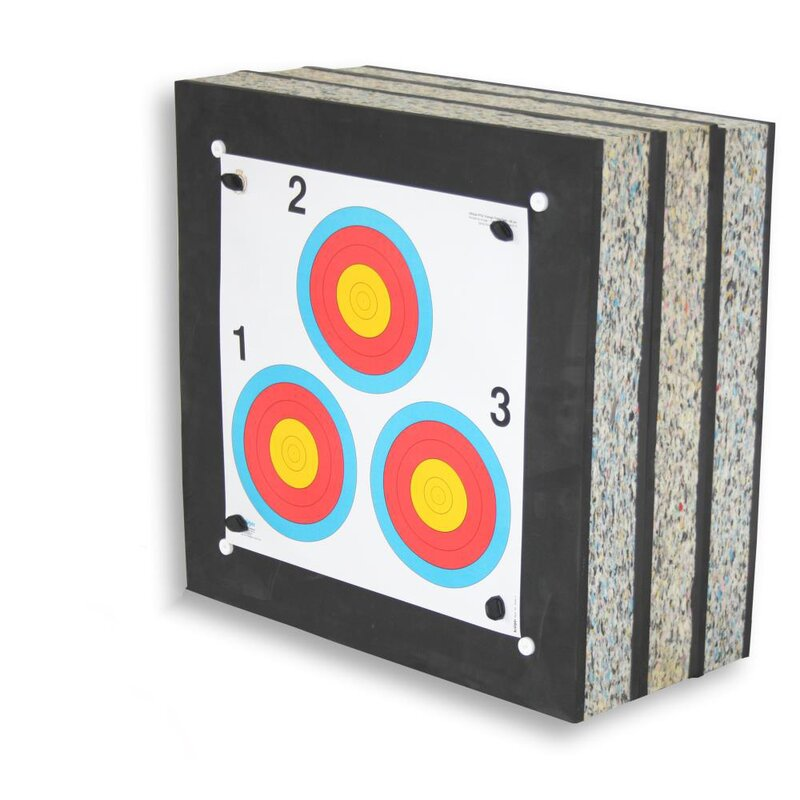 !!!Recommendation!!! STRONGHOLD Foam Target - Crossbow - Max - up to 425 fps - (60x60x30cm)