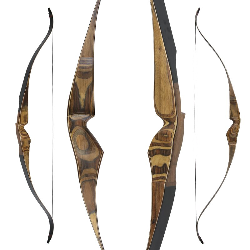 SET TOUCHWOOD Chital - 62 - 30-60 Ibs - Recurve Bow