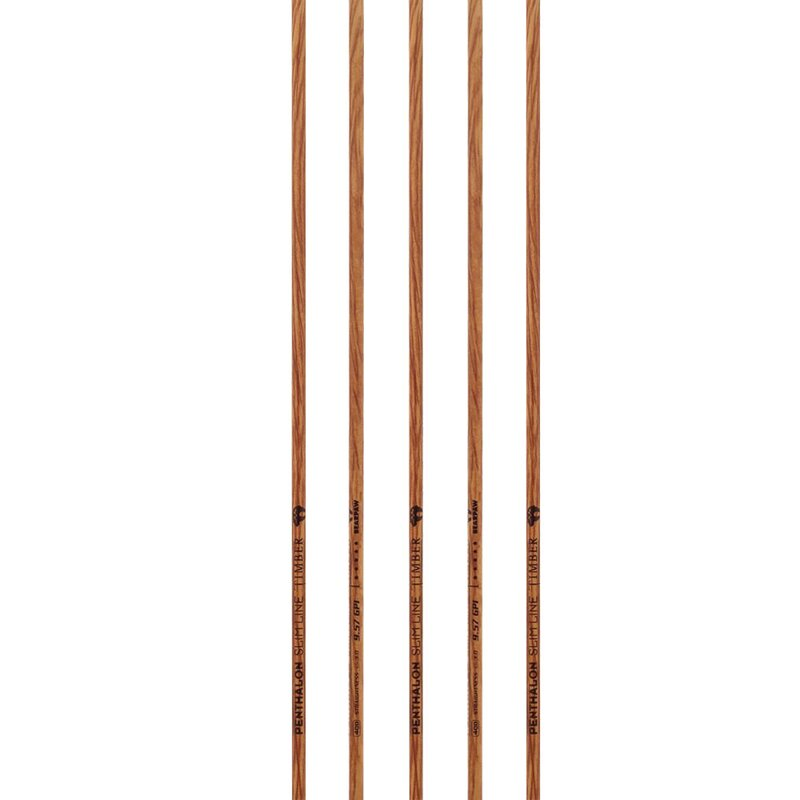 Shaft | BEARPAW Penthalon Slim Line Timber - Carbon | Spine: 1000 | 24.0