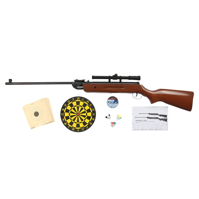 Air Rifle | PERFECTA Mod. 32 - Set - Cal. 4.5mm Diabolo - Spring Loaded
