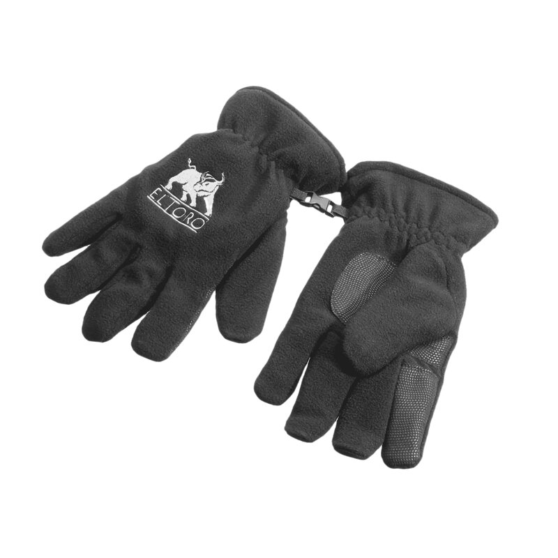 elTORO Fleece Glove Black - 1 Pair