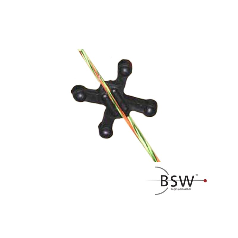 BOW JAX String Dampeners Slip Jax Black - 4 Pieces