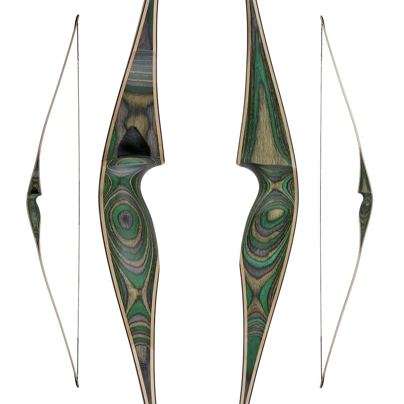 [Limited Edition] JACKALOPE - Malachite - 62 - Hybrid Bow - 30-60 lbs