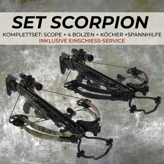 [SPECIAL] X-BOW Scorpion - 375 fps / 175 lbs - inkl....