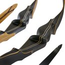 JACKALOPE by BODNIK BOWS - Smoked Amber - Recurve Bow - 25-55 lbs