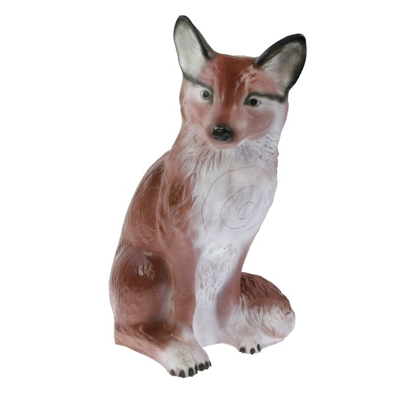 CENTER-POINT 3D Sitting Fox - Made in Germany