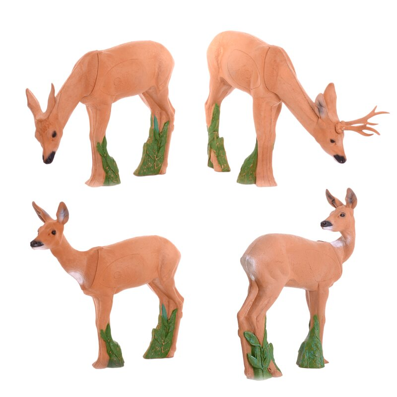 IBB 3D Deer Group with grazing Roebuck - 4 Animals [Forwarding Agent]