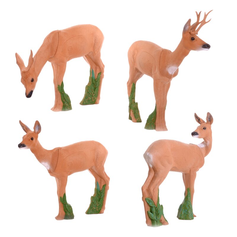 IBB 3D Deer Group with Roebuck - 4 Animals [Forwarding Agent]