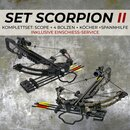 [SPECIAL] X-BOW Scorpion II - 370 fps / 185 lbs - incl. Zeroing Service at 30m