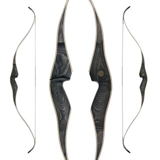 JACKALOPE - Moonstone - 60 - One Piece Recurve Bow -...