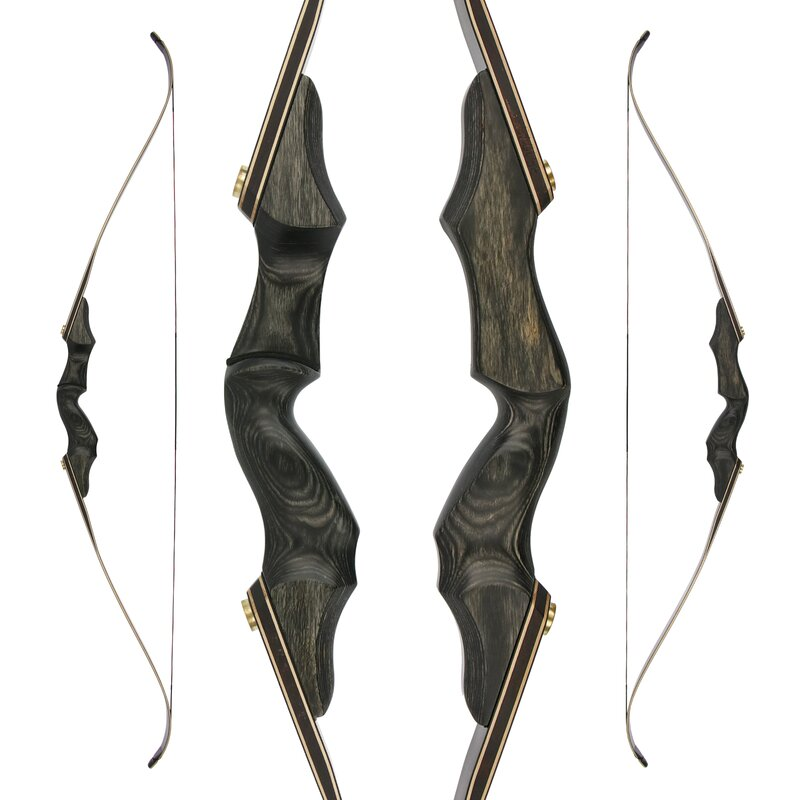 35lbs Recurve Bows Takedown Archery Kits Bow Hunting Set Sight Right Hand Arrows