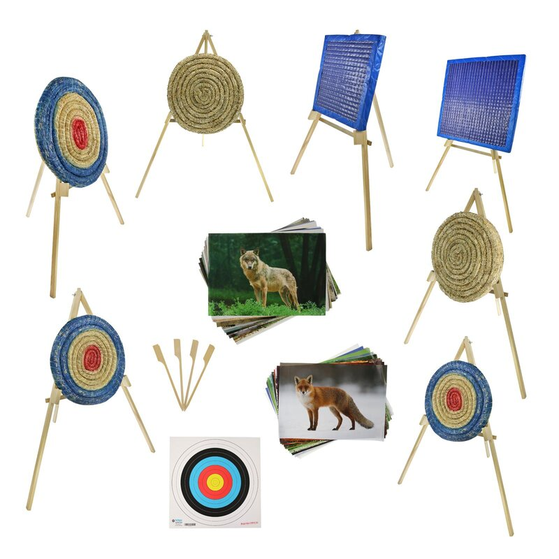 BEGINNER´S SET | Straw Target - incl. Stand and Target Faces