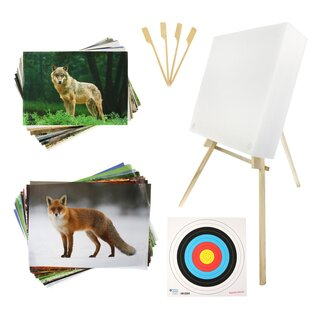 BEGINNER´S SET incl. Stand, Target Faces and Foam Target...
