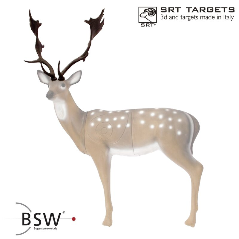 NEW | ONE OF A KIND | SRT Accessories - Antlers Fallow Deer