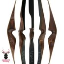 2nd CHANCE | JACKALOPE - Diamond - 60 - One Piece Recurve Bow - 40 lbs | Right Hand | Colour: Chocolate / Black