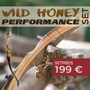 [SPECIAL] SET DRAKE Wild Honey Performance - 64 oder 68 Zoll - 18-40 lbs - Take Down Recurvebogen