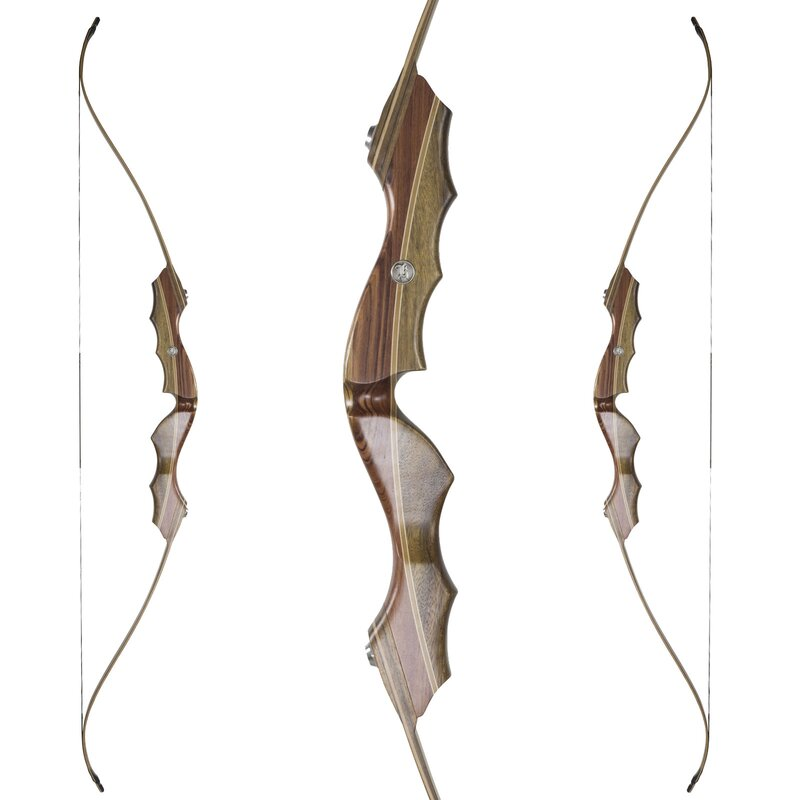 KAISER Eger - 64 - 25-60 lbs - Take Down Recurve bow