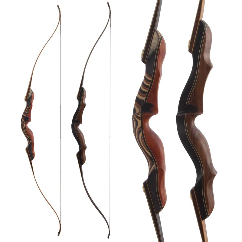 BODNIK BOWS Mohawk - 60-64 - 20-60 lbs - Take Down Recurve bow - by Bearpaw