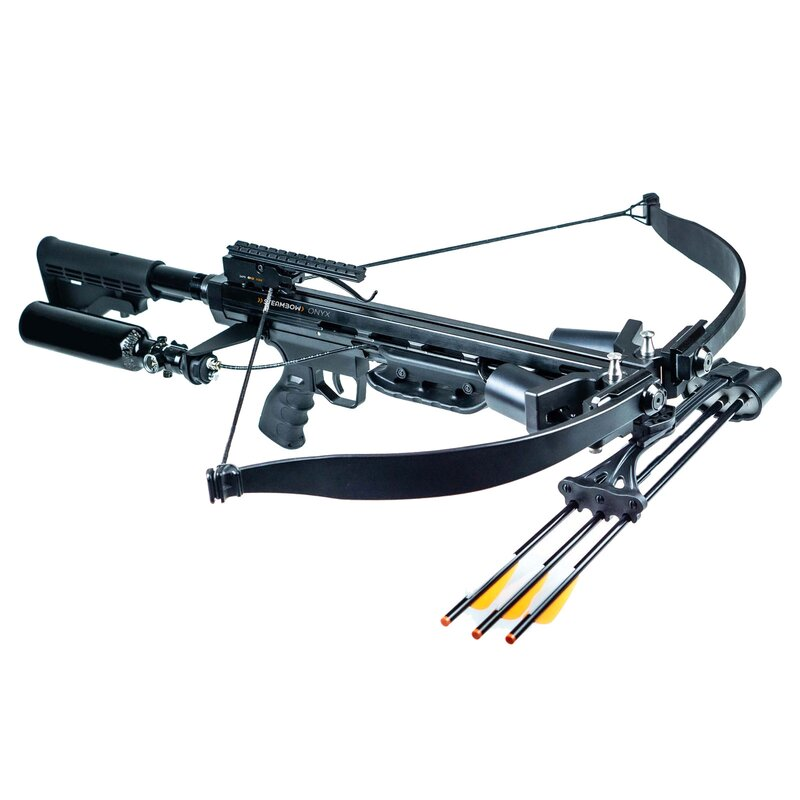 STEAMBOW Onyx - 225 lbs / 330 fps - Tactical crossbow in AR-15 style