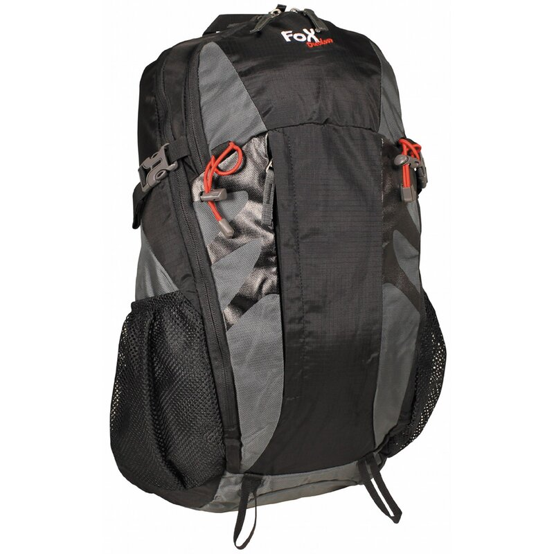 FOXOUTDOOR Backpack - Arber 30 - grey-black
