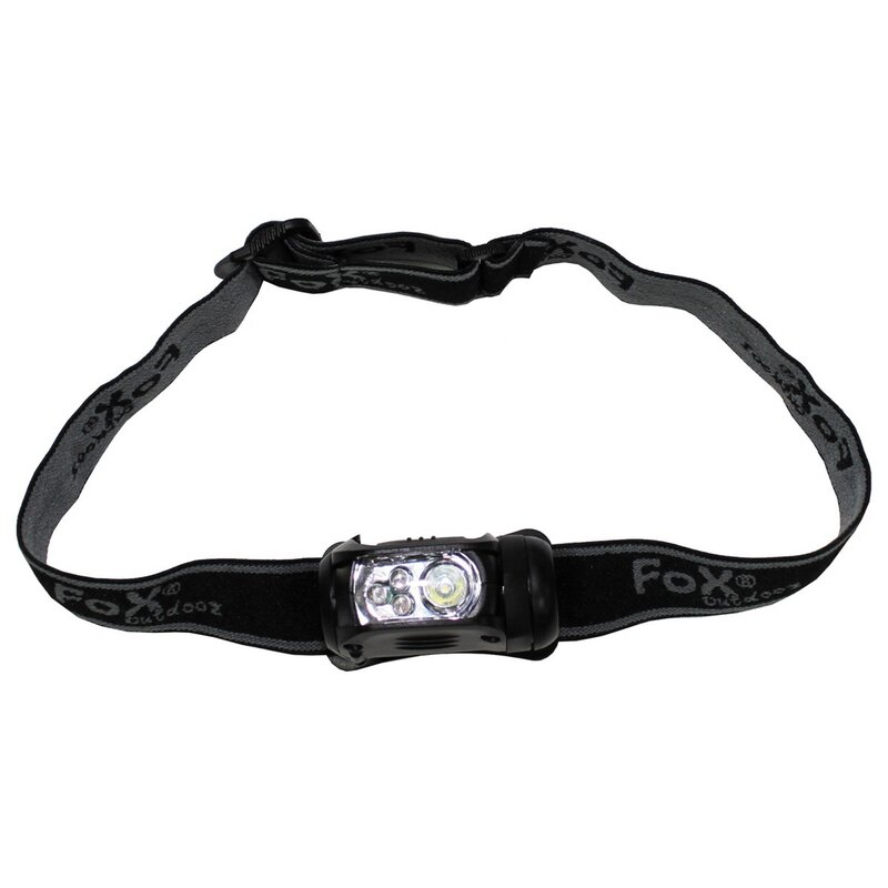FOXOUTDOOR Headlamp - MOLLE - 1 Watt - 3 lighting modes
