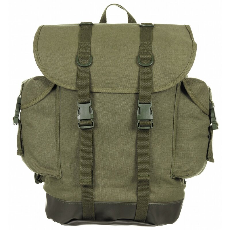 MFH BW Mountain Backpack -  new model - OD green
