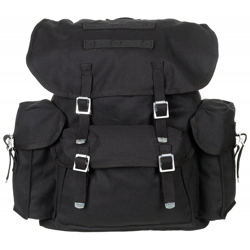 MFH BW Backpack - black - Canvas