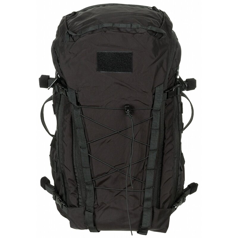 MFH HighDefence Backpack - Mission 30 - black - Cordura