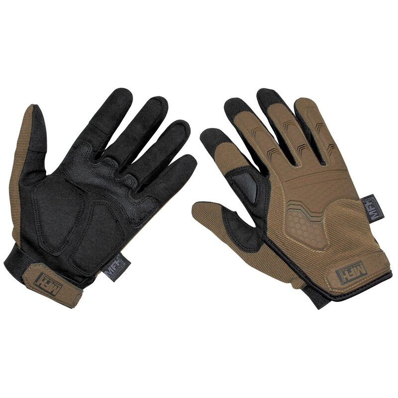 MFH HighDefence Tactical Handschuhe - Attack - coyote tan