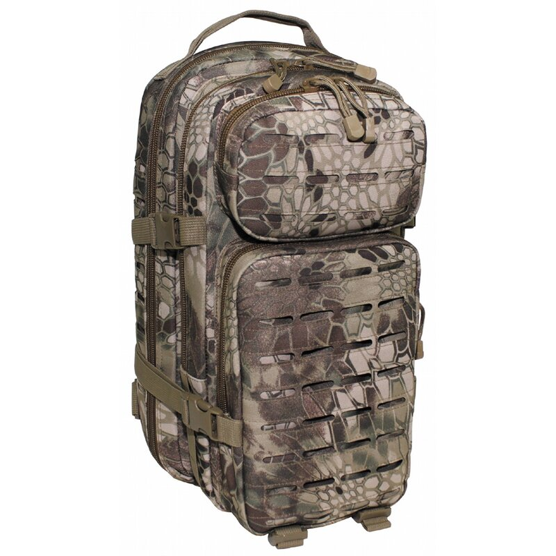 MFH HighDefence US Backpack - Assault I - Laser - snake FG