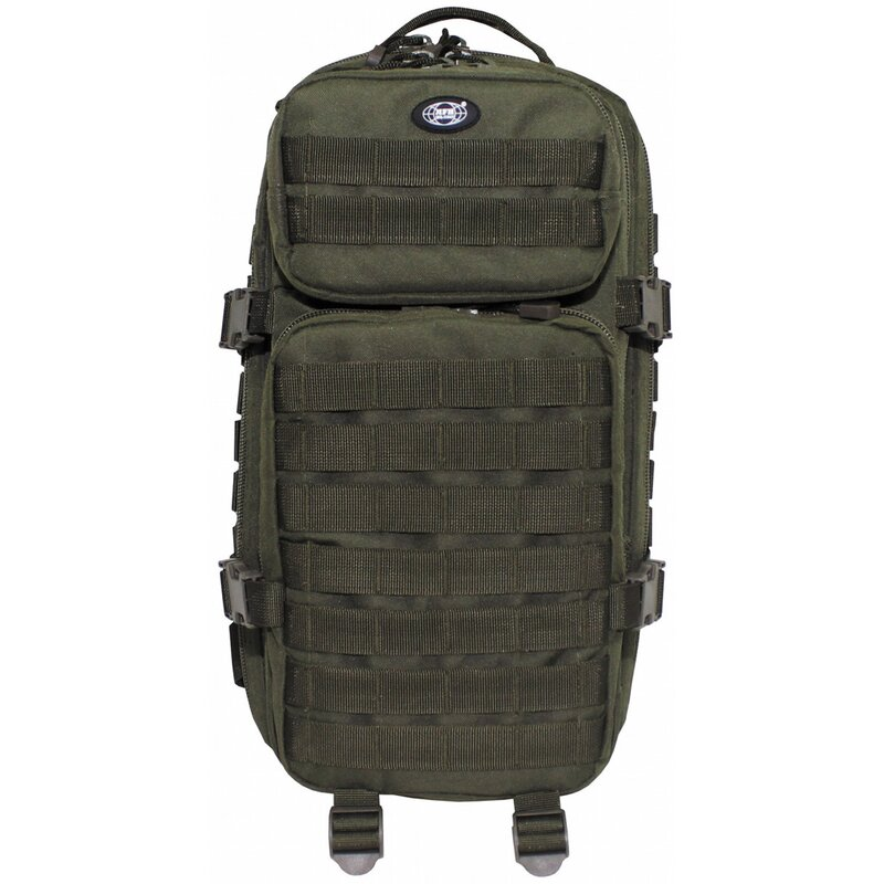 MFH HighDefence US Rucksack - Assault I - oliv