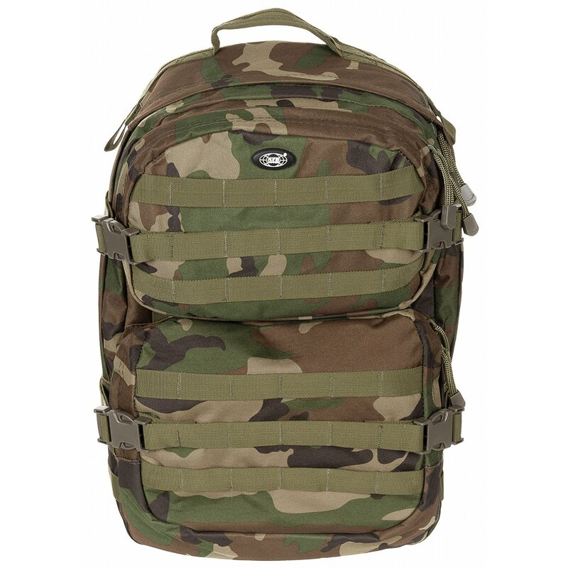 MFH HighDefence US Rucksack - Assault II - woodland