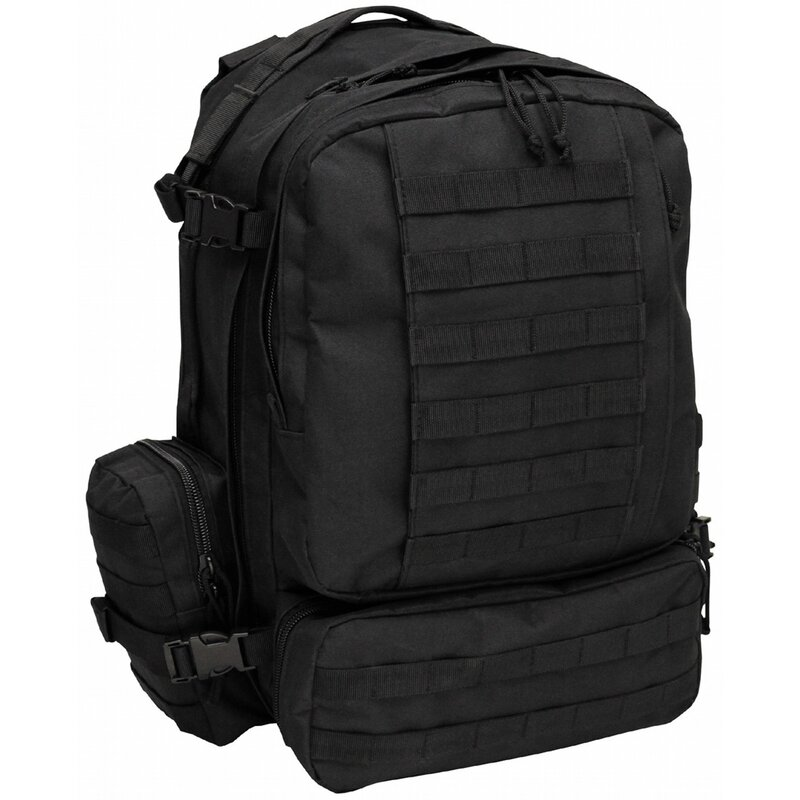 MFH IT Backpack - black - Tactical-Modular