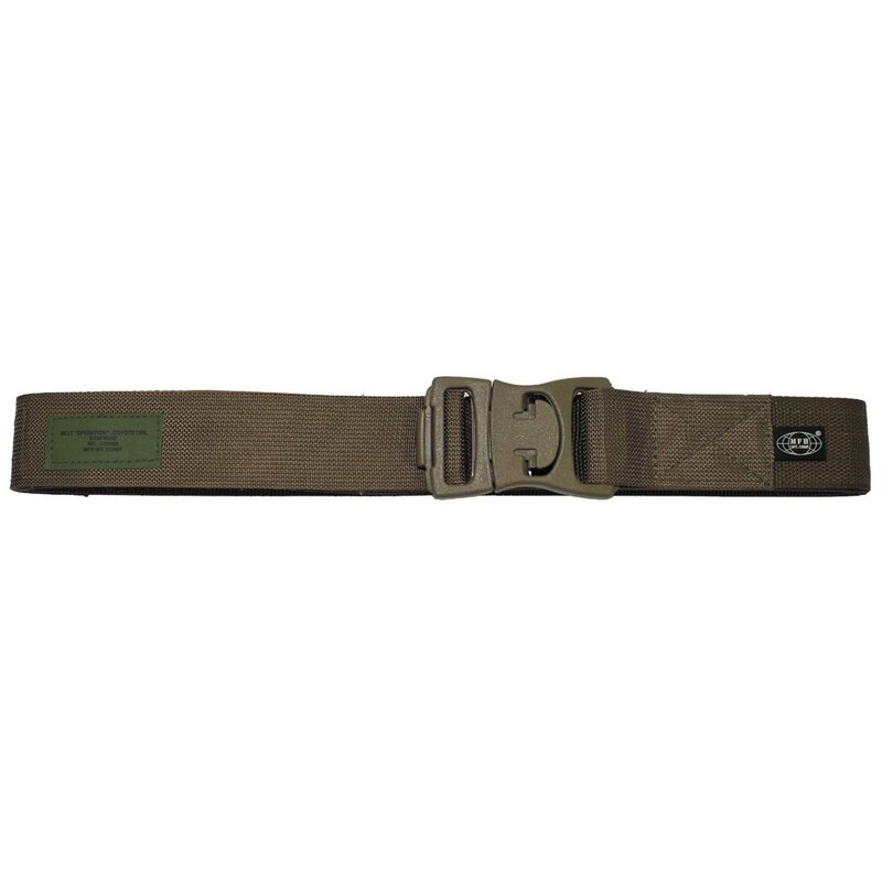 MFH Belt - Operation - coyote tan -  approx. 5 cm