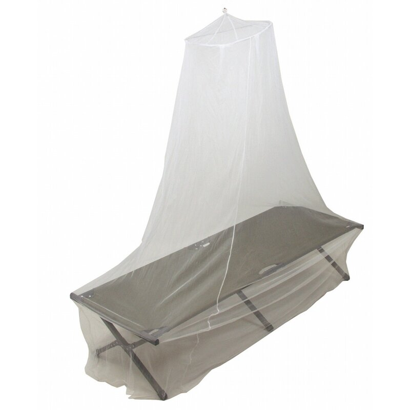MFH Mosquito Net for Single Bed - white